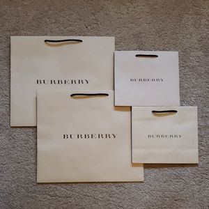 4 Burberry Bags